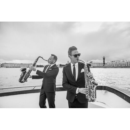 Saxophonisten Alex & Nikita